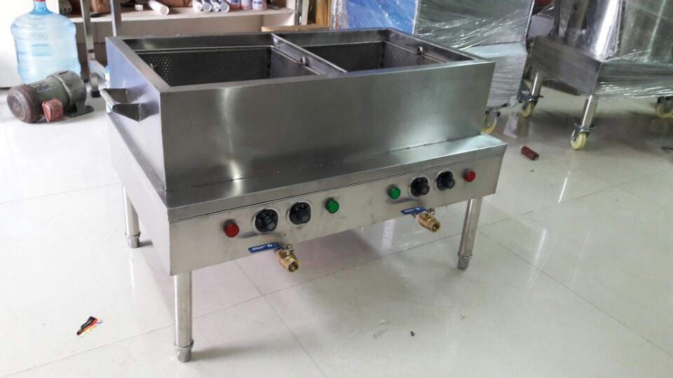 Bếp chiên điện 30 lít inox siêu bền đẹp