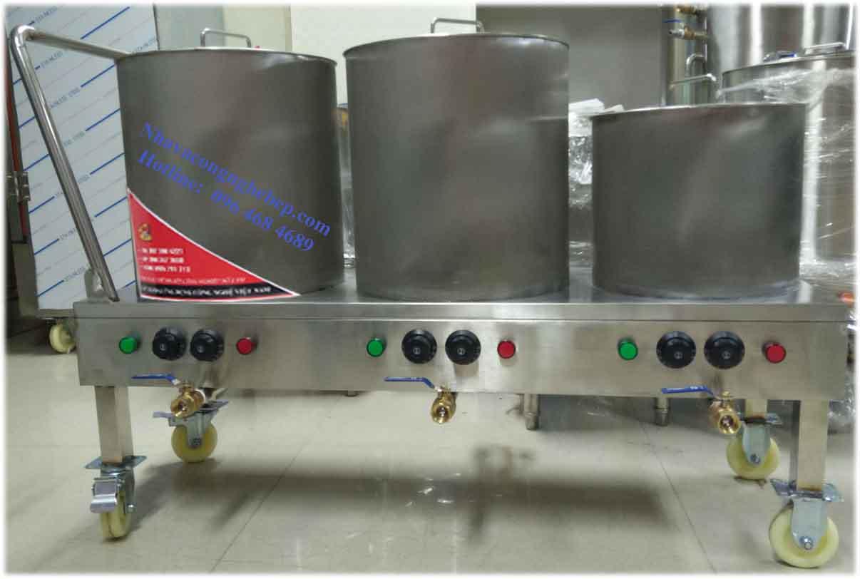 Bộ 3 Nồi Inox Nấu Phở Bằng Điện Di Động 20 30 và 50 Lít