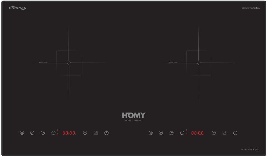 Bếp Từ Homy HD198 Tại Điện Máy VinSun